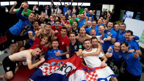 Reacciones de Croacia después de caer en la final del Mundial