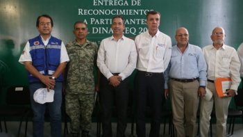 Encabezó Alcalde Simulacro Binacional de Emergencia