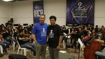 Dialoga Alcalde con integrantes de la Juventud Sinfónica