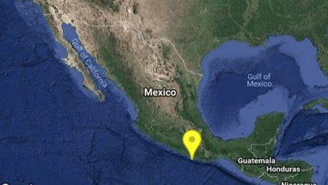 Reportan sismo de 4.9 grados al Noroeste de Río Grande, Oaxaca