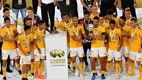 Tigres es Campeón de Campeones por tercera vez
