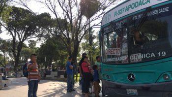 Exigirá César Garza al Estado mejorar transporte en Apodaca