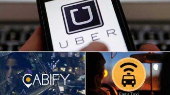Respaldan multas a Uber, Easy Taxi y Cabify por publicidad engañosa