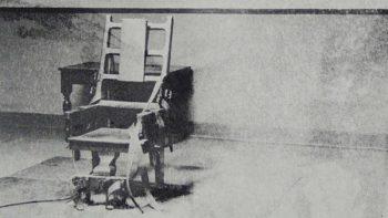 Silla eléctrica, invento que hizo millonario a Edison