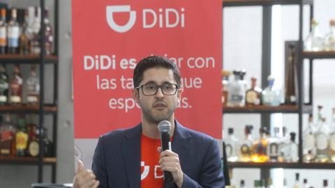 DiDi Chuxing llega a competir contra Uber y Cabify