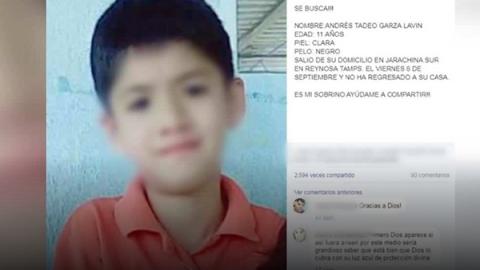 Localizan a menor de Reynosa en Nuevo León