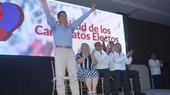 Mario López agradece la confianza del pueblo