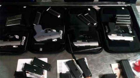 Asegura Sedena armas en Tamaulipas procedentes de EU