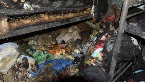 Madre e hijas sufren incendio de su casa durante novenario del padre
