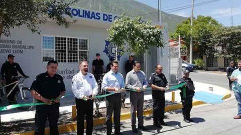 Inauguran una subestación más de policía en Guadalupe