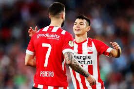 Hírving Lozano anota en el triunfo del PSV