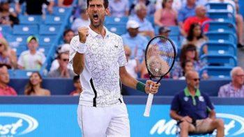 Novak Djokovic hace historia ante Roger Federer