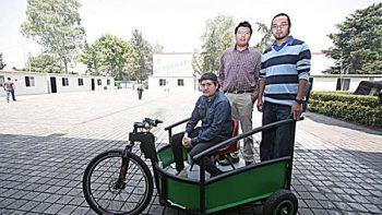 Alumnos del IPN crean vehículo eléctrico