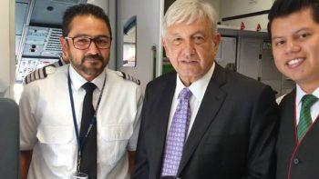 Aerolínea se promociona en redes sociales con viaje de AMLO
