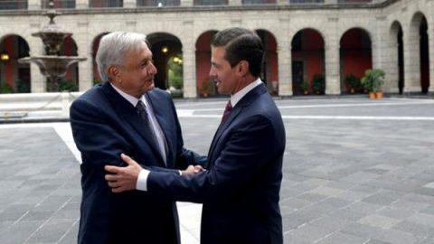 Termina encuentro AMLO y Peña Nieto donde hablaron de la transición