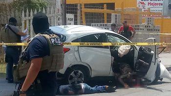 Infernal balacera deja dos abatidos en la Jacinto López