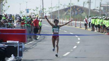 México gana oro en maratón femenil en el último día de los JCC