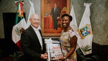 Matamoros da la bienvenida a Neda Brown, nueva cónsul de EU