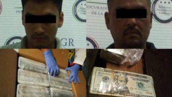 Aseguran más de millón y medio de dólares, armas y droga en Campeche