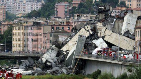 Se eleva a 30 cifra de fallecidos en derrumbe en puente de Italia