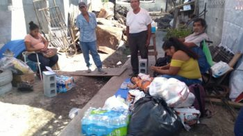 DIF Reynosa visita familias
