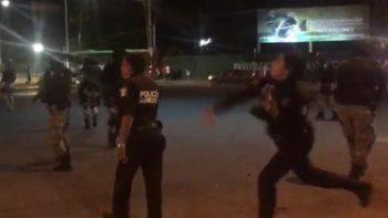 Aficionados de Celaya acusan a policías de disparar para dispersarlos