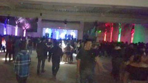 Sorprenden a menores en fiesta con alcohol y drogas en Tijuana