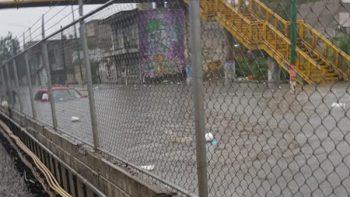Videos muestran las inundaciones en la CDMX