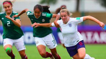 Tri femenil Sub-20 cae ante Inglaterra y se despide del Mundial