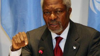 Fallece Kofi Annan a los 80 años