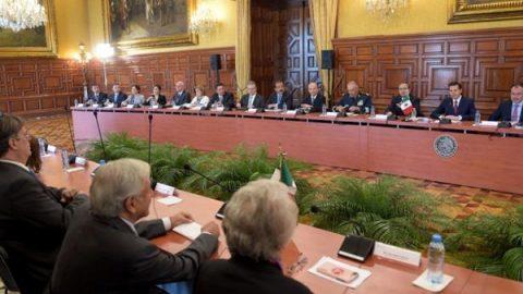 AMLO y Peña Nieto arrancan de manera formal proceso de transición