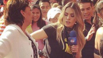 Galilea Montijo aclara incidente con una mujer en el mercado