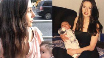 Zuria Vega e Ingrid Coronado celebran la lactancia materna