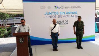 Inicia campaña 'Juntos sin Armas, Juntos sin Violencia'