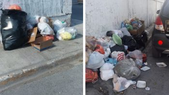 Pide Dirección de Limpieza usar recipientes para la basura