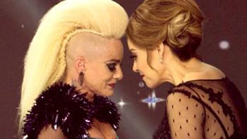 Lola Cortés revela abuso y llora junto a Rosie Rivera en 'Mira quién baila'