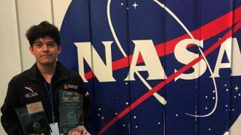 NASA selecciona a joven mexicano para programa internacional