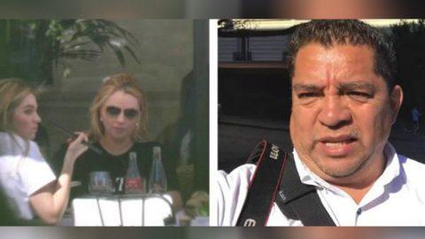 Escoltas de Angelica Rivera amenaza a periodista de Monterrey