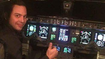 ¿Quién es el piloto del avión de Aeroméxico accidentado en Durango?