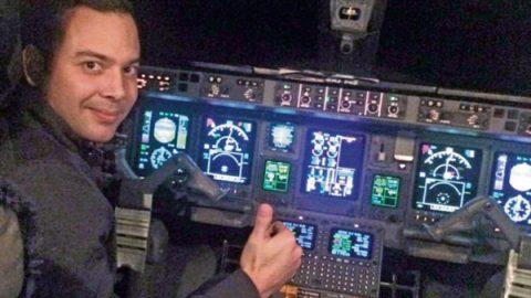 Sorprende evolución de piloto que se accidentó