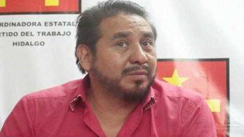 Detienen a dirigente del PT en Hidalgo por golpear a su ex pareja