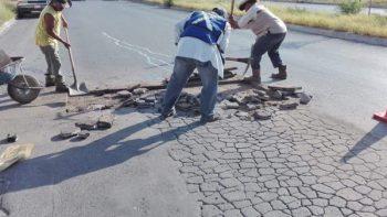 Rehabilita Municipio calles de fraccionamientos y colonias