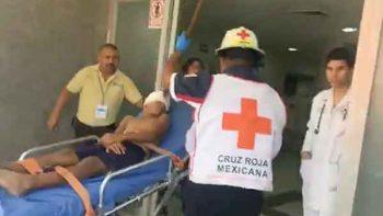 Médicos extraen con éxito una varilla de la frente de un niño
