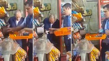 Captan a empleado de Bimbo y Marinela en posible robo a tienda