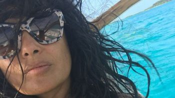 Salma Hayek vuelve a lucirse al natural