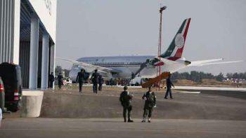 Inai ordena buscar contrato de resguardo para avión presidencial