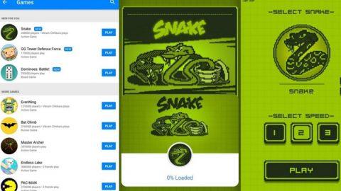 Snake está de regreso en Facebook