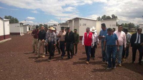 Sedena verifica que medidas de seguridad en tianguis de Tultepec