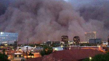 Se registra tormenta de arena en Arizona