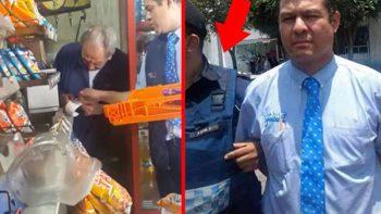 Detienen a repartidor de Bimbo por robo a tiendita